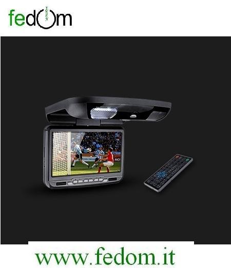 """Monitor da tetto per auto 9"""" TFT LCD  XTRONS CR903"""