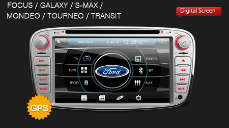 autoradio per ford focus mondeo s max c max monitor hd dvd mp3 gps dvb t autoradio speciali. Black Bedroom Furniture Sets. Home Design Ideas