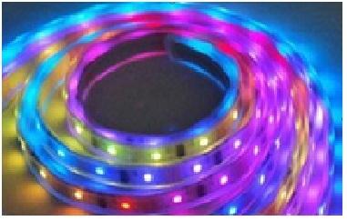 Striscia Strip SMD5050 Colore  RGB  5m 150 LED resistente all'acqua alta luminosità FED0190