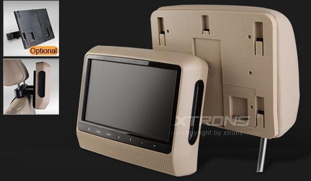"""Poggiatesta 2*9"""" Alta definizione  Monitor estraibile Xtrons HM901"""