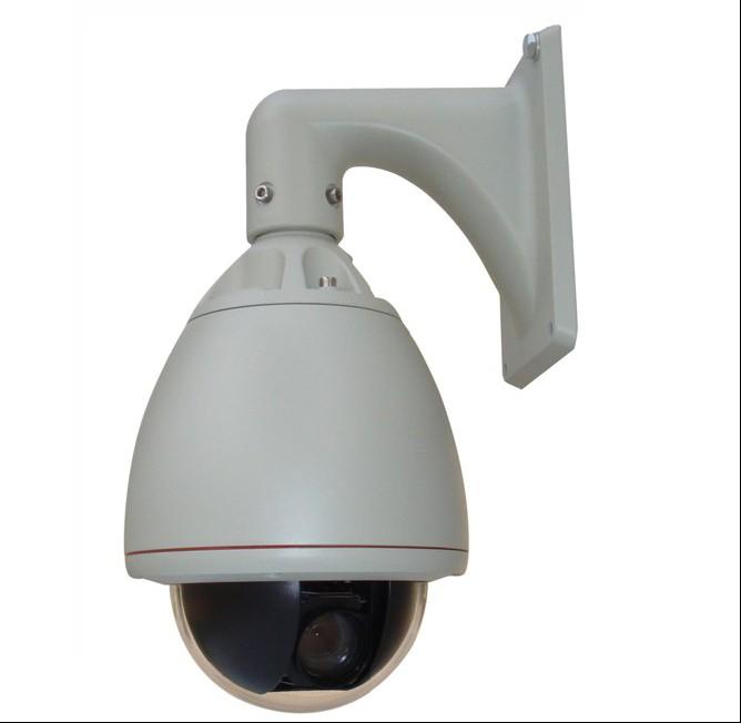 Telecamera  IP high speed dome camera H264 da esterno zoom ottico 27x 480TVL 300°/s rotazione 360°  RTSP ONVIF