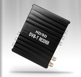 Ricevitore digitale terrestre HD Xtrons FV006 230Km/h 2 antenne DVB-T+ USB recorder
