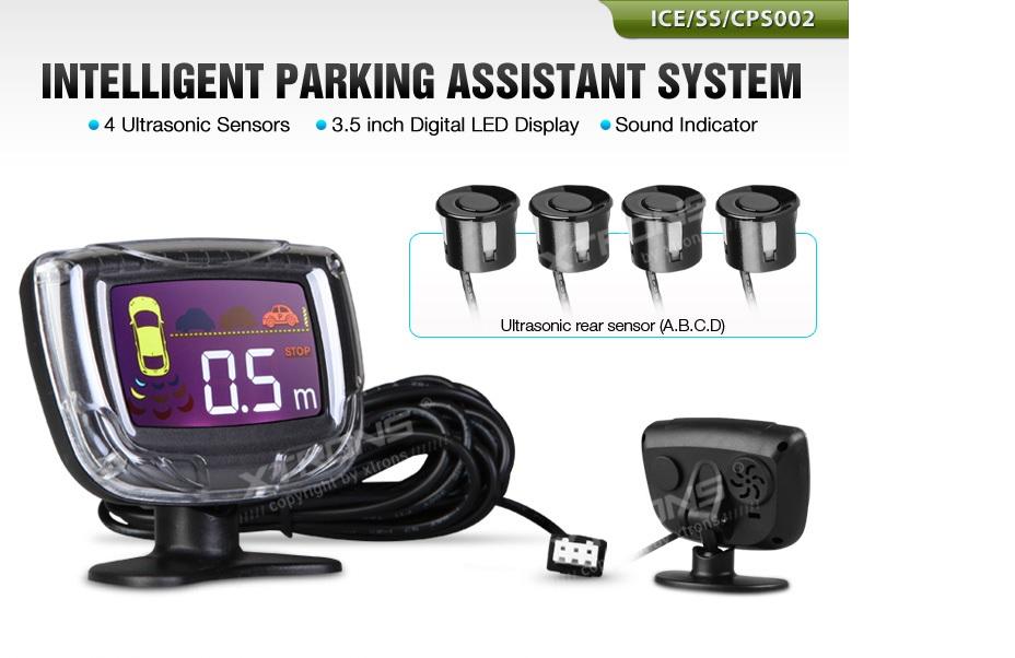 Xtrons CPS002 CPS003 CPS004 Sensori di parcheggio ad alta tecnologia