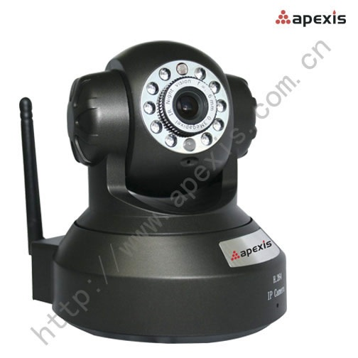 Apexis APM-JP8115-WS telecamera P2P IP IR  Pan Tilt audio bidirezionale Controllo Iphone