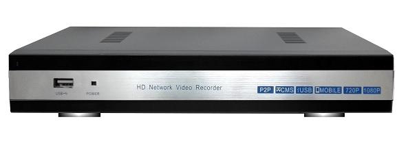 DVR/NVR Ibrido analogico e IP 4ch  1080p per telecamere IP oppure AHD  P2P per IOS ed Android Phone supporta 1 sata HDD fino a 4TB