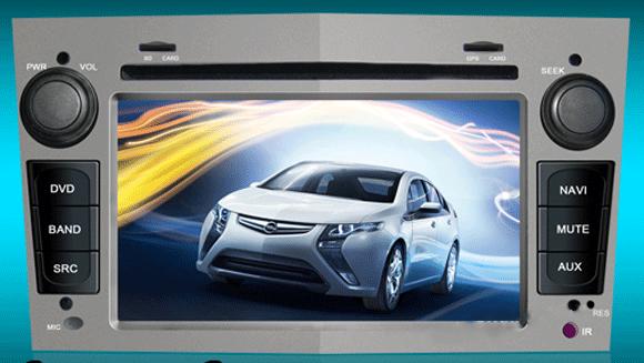 Autoradio per Opel (Astra Zafira Meriva Antara Corsa) monitor HD DVD MP3 GPS DVB-T