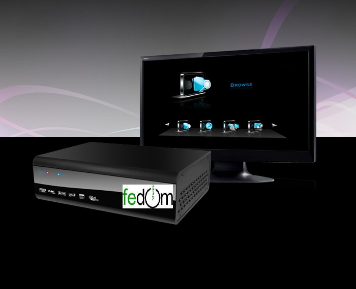 Network Media Player Full HD HDD Wifi Chip Realtek