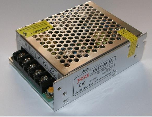 Alimentatore AC 220v- DC 12V 60W FED0194