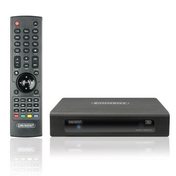 Eminent EM7380 Media Player Chip Realtek 1186 lettore 3D Full HD 1080p