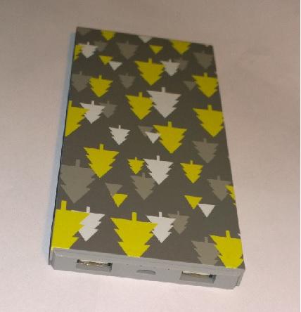 Bluetimes USB Power Bank 8000 mAh Caricabatterie portatile 2 porte USB
