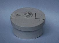 Sensore di fumo e calore wireless 868MHz  per sistemi di allarme Fedom supervisionati